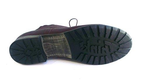 Think Schnürboot, Antikleder chianti, herausnehmbares Fußbett für eigene lose Einlagen, Denk 85028-34