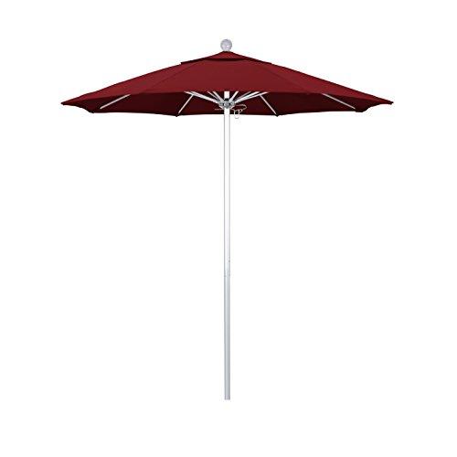 Red 7.5' Olefin Umbrella - 5