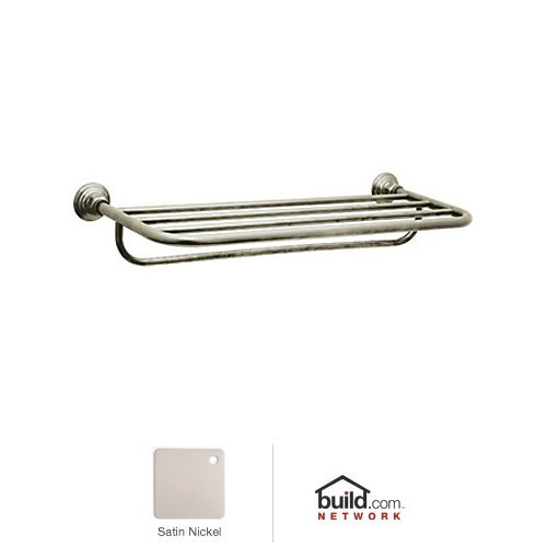 Rohl ROT10STN Country Bath Towel Rack, 24'', Satin Nickel