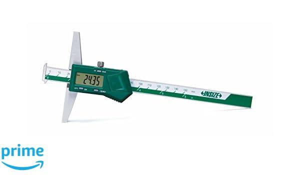 "0-8/""//200mm Range 0.0005/"" Grad 4/"" Base Digital Electronic Depth Gage Caliper"