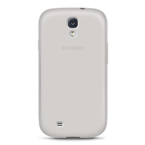 Belkin Sheer Matte Case/Cover for Samsung Galaxy S4 (Clear)