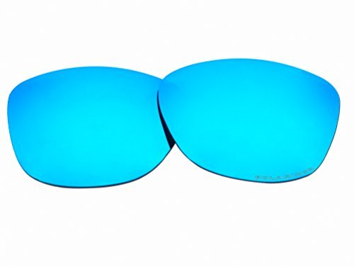 Polarized Replacement Sunglasses Lenses for Oakley Frogskins with UV Protection(Ice Blue Mirror) by C.D