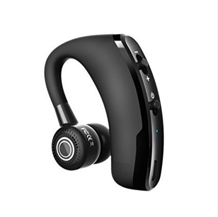 FastWin V9 Handsfree Business Wireless Bluetooth Headset With Mic Voice Control Headphone For Drive Connect With 2 Phone by FastWin