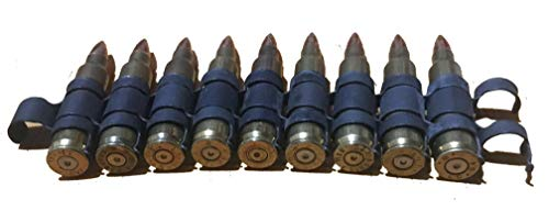 J&M Specialties 5.56 NATO Dummy Rounds Linked M249 Belt Linked Snap Caps (10 RDS) ()