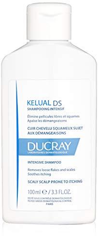 Ducray Kelual DS Shampoo, Scalp Prone to Dandruff & Seborrheic Dermatitis, Soothes Itchy, Irritated Scalp, 3.3 oz.