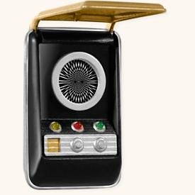 QXI2254 Star Trek Communicator 2008 Hallmark Keepsake Mag...