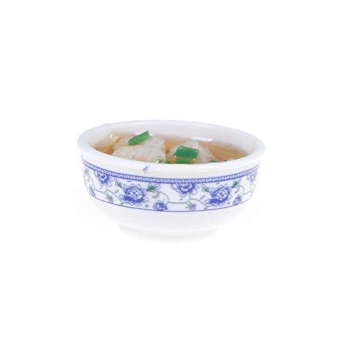 Brosco Shrimps Noodle Bowl Food 1/6 Scale Dollhouse Miniature ()