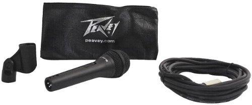 (Peavey PVI-2 XLR Steel Die Cast Vocal Microphone, Cardioid, Dynamic PVI2XLR)