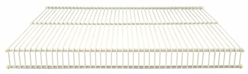 Organized Living 1710-1212-11 12'' X 12' White Open Slide Closet Shelving