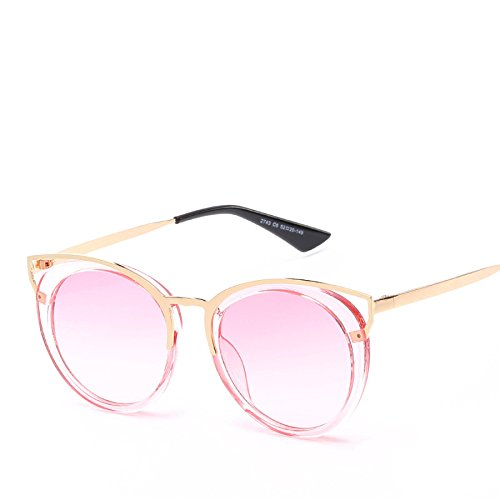 Damas Sombrillas Gafas Gato Sol Sol De Unidos RinV Gafas Estados NO3 Ojos Metal De De Hueca Europa No4 Y Moda wWTSIq0p