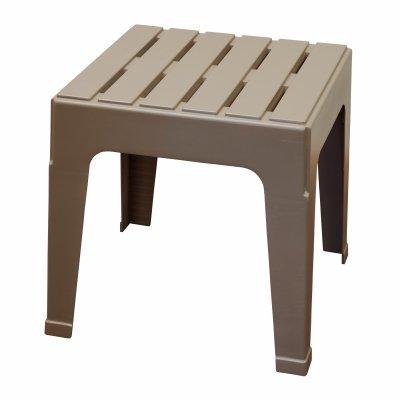 Adams 8090-96-3731 Manufacturing Stack Table, Portobello - Resin Stack