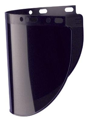 Honeywell 4178IRUV8 Model 4178 Shade 8 Propionate Molded Wide Vision Plasma Cutting Faceshield Window, Fiber-Metal, 8