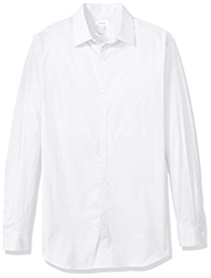 Calvin Klein Men's Big and Tall Infinite Cool Solid Shirt