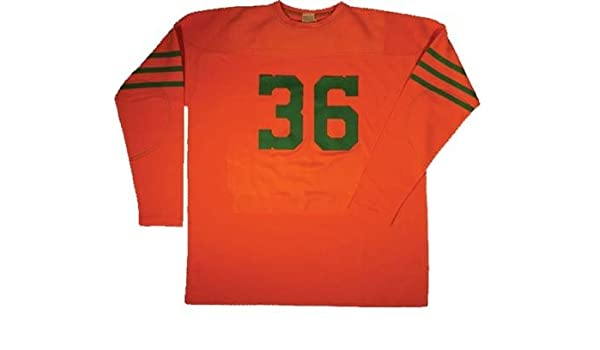 a2644660d76 1946 Miami Seahawks Authentic Football Jersey from Ebbets Field Flannels