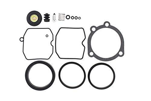 (CV Carburetor Rebuild Carb Repair Kit for Harley-Davidson Bad Boy Dyna Electra Glide Fatboy Heritage Softail Springer Low Rider Night Train Road King Sportster 1200 883)