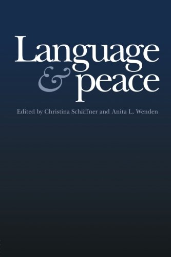 Language & Peace (War & Peace) by Brand: Routledge