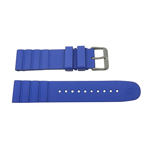 Victorinox I.N.O.X 21mm Blue Rubber Watch Strap -  005430