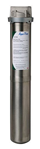 3M Aqua-Pure Whole House Standard Diameter Stainless Steel Filter Housing, Model SST2HB by AquaPure