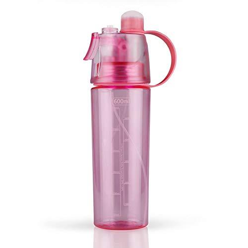 Xinshi Mist Water Bottles Spray Kettle for Kids,Leak Proof Sports Bottle,BPA Free,21oz (Bottle Rocket Ideas For 2 Liter Bottle)