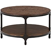 Jofran: 785-2, Urban Nature, Round Cocktail Table, 32W X 32D X 18H, Urban Nature Pine Finish, (Set of 1)