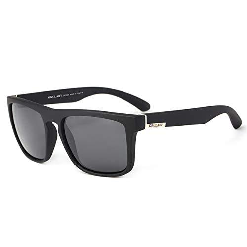 Recubrimiento KOMNY de Deportivas OKULARY B Mujeres Marca Hombres Gafas Diseñador polarizadas la de de de UV400 Conducción Gafas Estuche Sol sin Reflectante de A Gafas rxrR6qXw