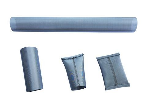 """3 pack of food grade Stainless Steel Mesh Terp Tubes 25 & 50 Micron (1"""" x 9"""" 25 micron)"""