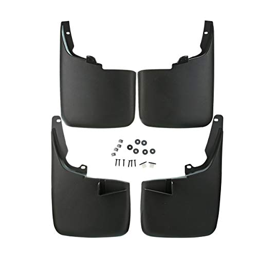 A-Premium Splash Guards Mud Flaps for Toyota 4Runner 2003-2009 Front and Rear 4-PC Set