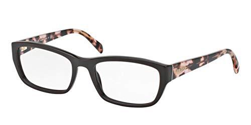 Prada PR18OV Eyeglass Frames DHO1O1-52 - Dark Brown PR18OV-DHO1O1-52 ()