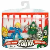 Marvel Super Hero Squad Invisible Woman vs. Dr. Doom