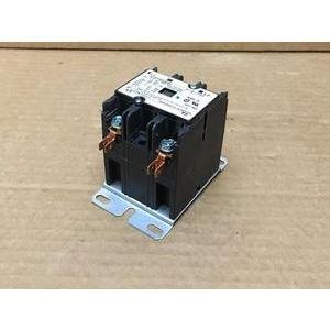 TYCO ELECTRONICS 3100Y30Q9082/P-8-7721 2 POLE 120/240 VOLT 30 AMP CONTACTOR