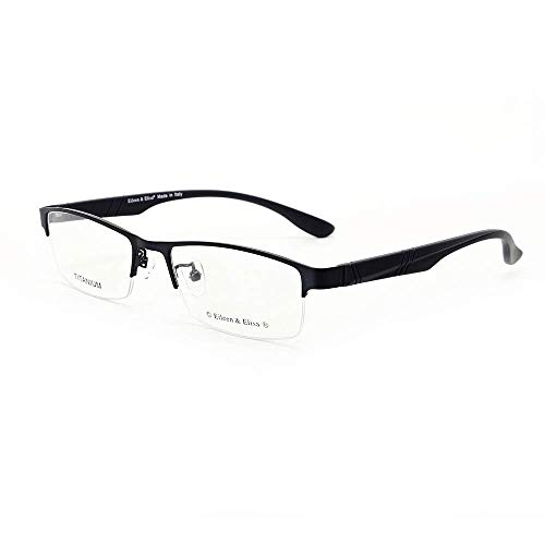 - Eileen&Elisa Non Prescription Glasses Frame with Titanium Optical Eyeglasses for Men/Women