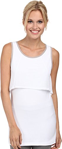 LOLE Women's Nadine Tank Top, Large, White