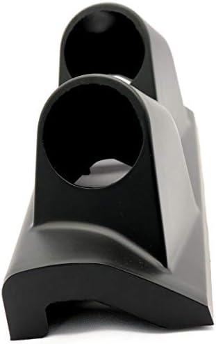 Vosarea 1 PC 52ミリメートルデュアルゲージ耐久性のある実用的なABS高品質自動右メーターゲージ楽器マウントホルダーブラケットスタンド