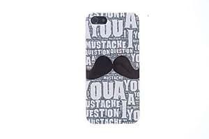 SHOUJIKE Interesting Moustache Hard Case for iPhone 5/5S