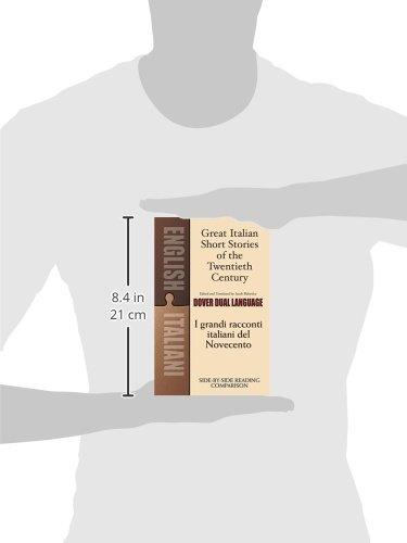 Great Italian Short Stories of the Twentieth Century / I grandi racconti italiani del Novecento: A Dual-Language Book (Dover Dual Language Italian) by Dover Publications