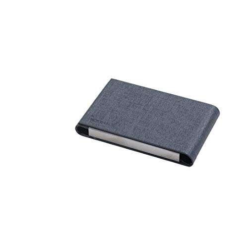 (Epoint C.B.U.I.039 Grey Black Artificial Leather Series Name Card Case)