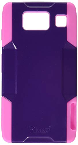 - Reiko SLCPC09-MOTXT926PPHK Compact and Durable Hybrid Combo-Case with Holster, Belt Clip and Kickstand for Motorola Droid Razr XT926 - 1 Pack - Retail Packaging - Purple/Hot Pink