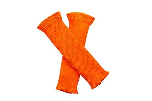 Merino Wool Adult Women Arm Warmers Fingerless Gloves Knit
