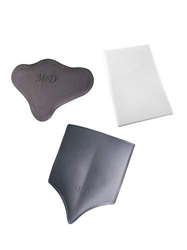 M&D Post Op Compression Back Board Lumbar Molder Combo BBL Post Surgery Supplies