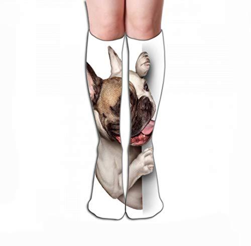 - Xunulyn Women Girls Novelty Funny Crew Socks 19.7