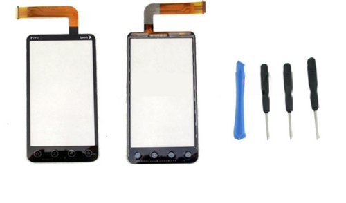 Sprint HTC Evo 3D touch glass lens screen digitizer ~ Repair Parts Replacement With free tools