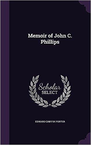 Memoir of John C. Phillips