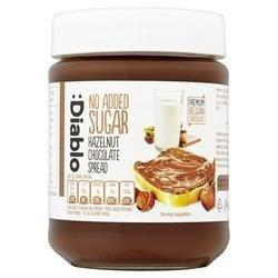 Sugar Free Spread - Diablo Sugar Free Hazelnut Chocolate Spread 350g X 4 by Diablo Sugar Free