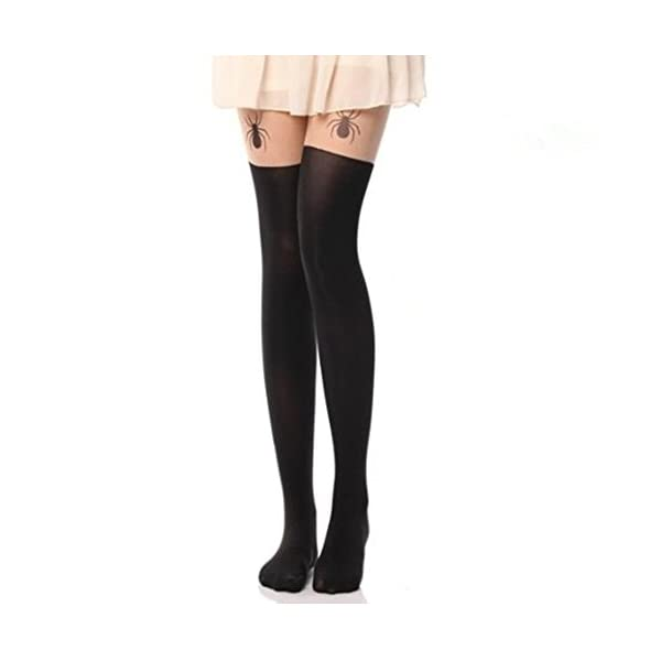 36be752bb AStorePlus Tattoo Patterned Stocking Silky Tights Sexy Leggings ...