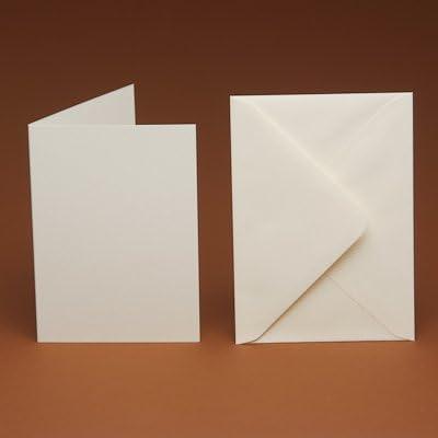 50/A6/Cartes vierges et 50/lisse C6/enveloppes