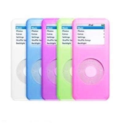 Apple iPod Tubes 5-pack for iPod nano 1G (Purple, Pink, Blue, Green, and Clear)