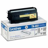 Brand New Genuine Brother TN-460 Black High Capacity Laser Toner Cartridge, Designed to Work for Fax 4750, Fax 5750, Fax 8350p, Fax - Genuine Oem Fax