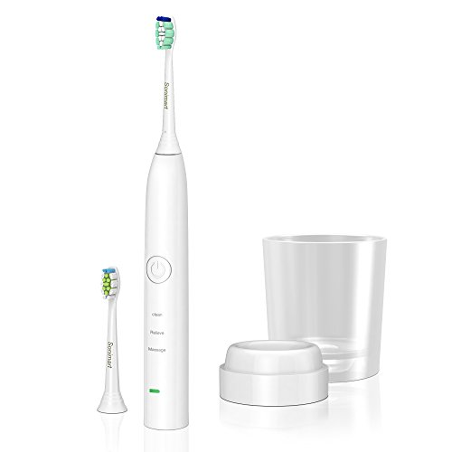 Sonimart Rechargeable Sonic Toothbrush compatible with Philips Sonicare DiamondClean and ProResults HX9332 HX9352 HX6253 HX6511 HX6730 HX6750 HX6930 HX6932 HX6942 HX6932 HX6911