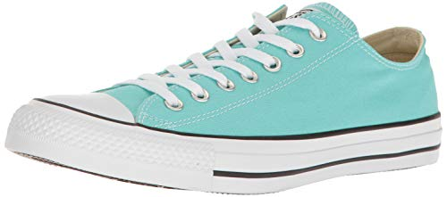 Converse Chuck Taylor All Star Seasonal OX Light Aqua Athletic Shoes -