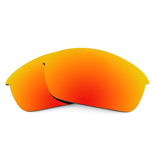 - Revant Polarized Replacement Lenses for Oakley Flak Jacket Fire Red MirrorShield